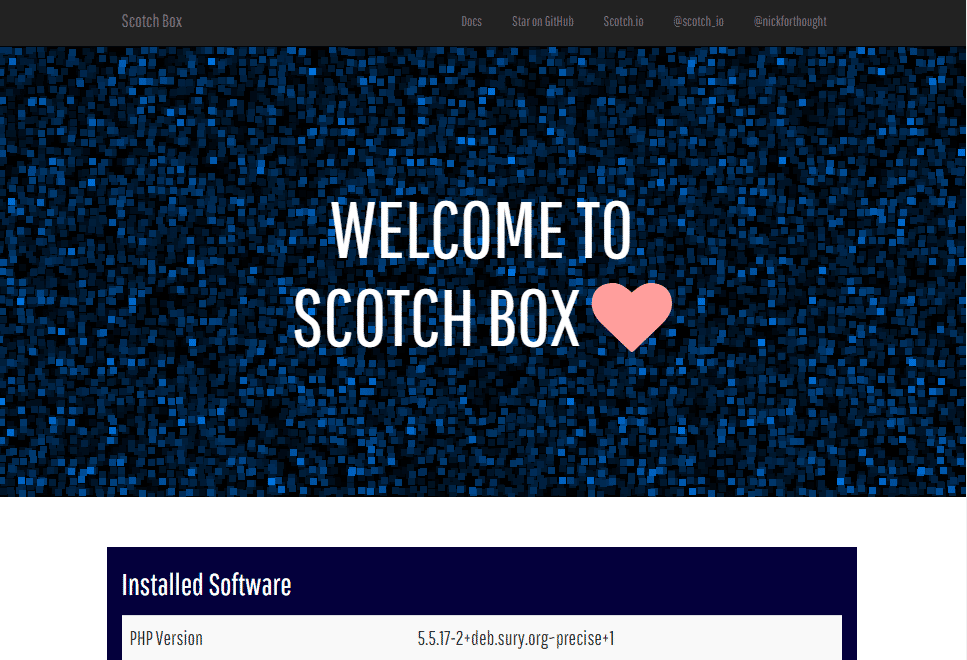 scotch-box-install